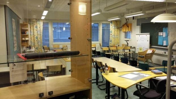 Luokkatilat odottavat koulujen alkua