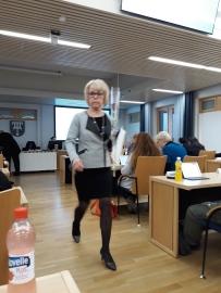 Nummen palkittu Birgitta Virolainen