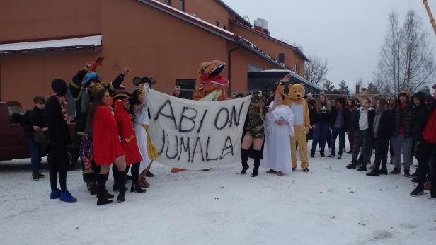 Viimeiset penkkarit Nummella 2018