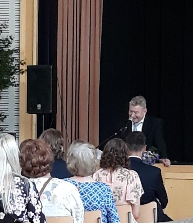 Vanhemman puhe, Johan Perälahti